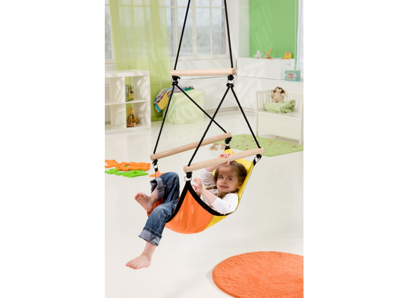 Hamac Suspendu Enfant Swinger Yellow