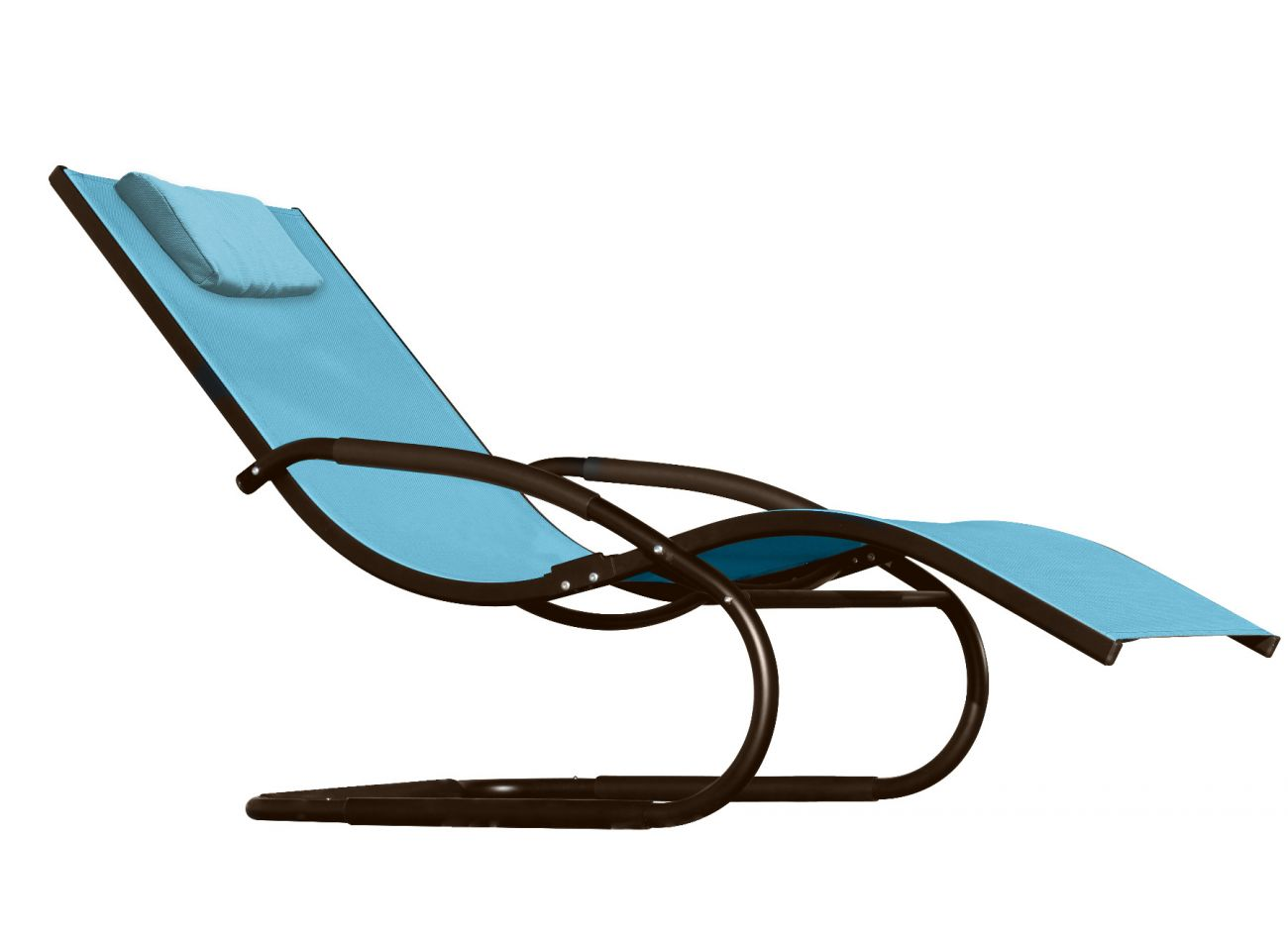 Chaise Wave Blue