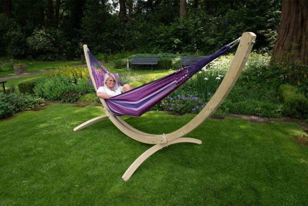 Hamac Sur Pied 2 Personnes Wood & Chill Love