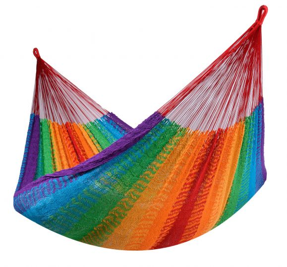 Hamac 2 Personnes Mexico Rainbow