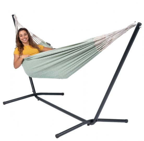 Hamac Sur Pied 1 Personne Easy & Natural Green