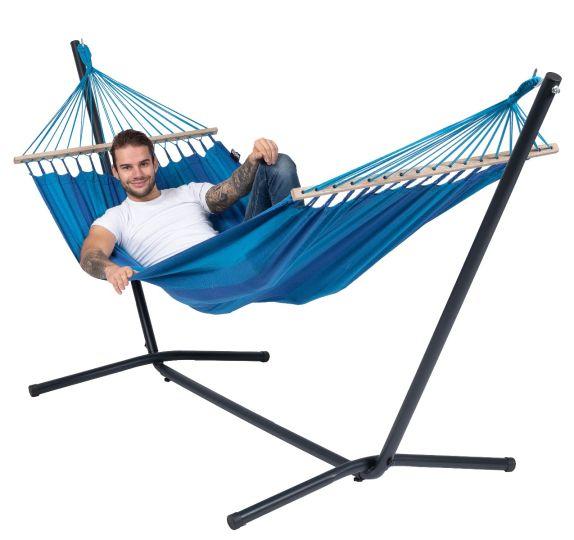 Hamac Sur Pied 1 Personne Easy & Relax Blue