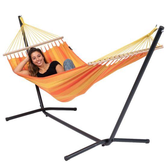 Hamac Sur Pied 1 Personne Easy & Relax Orange