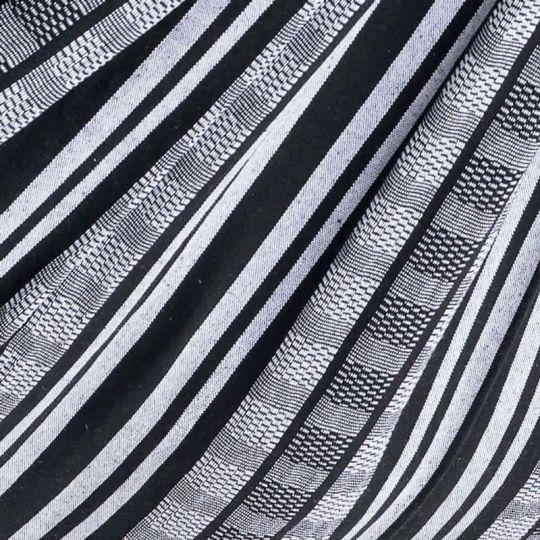 Petite couverture Comfort Black White