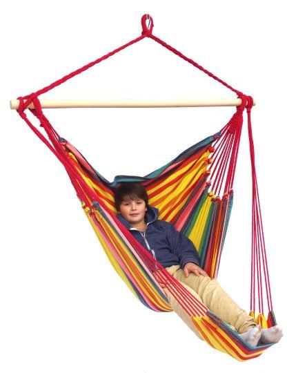Hamac Suspendu 1 Personne Tropical Sunny Lounge