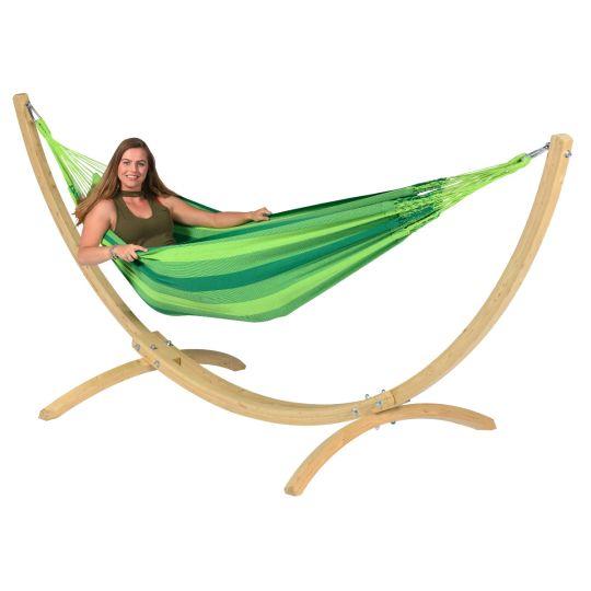 Hamac Sur Pied 1 Personne Wood & Dream Green