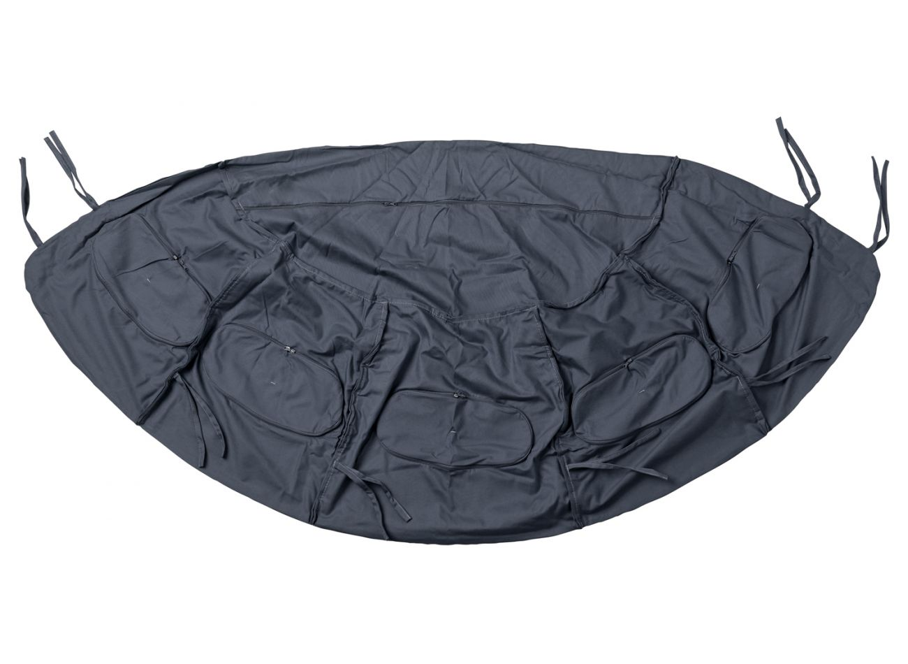 Taie d'oreiller Globo Royal Anthracite