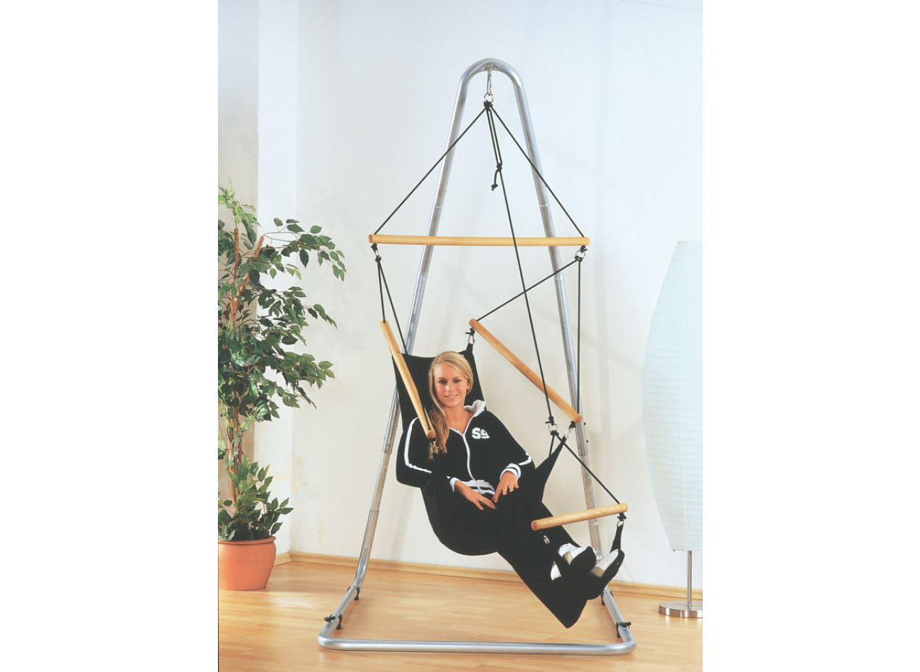 Hamac Suspendu 1 Personne Swinger Black